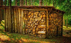 Tricks, damit Cheminéeholz länger brennt